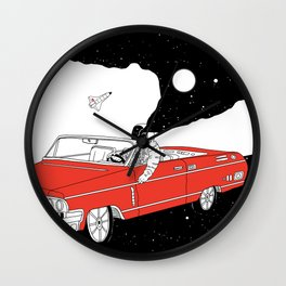 Passing Dream Wall Clock