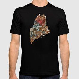 Maine (intertidal zone) T-shirt