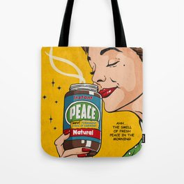 Instant Peace Tote Bag