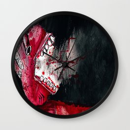 Tell Tale Heart Wall Clock