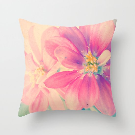 Flowers forest  Throw Pillow