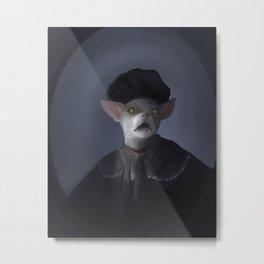 Paulie Rembrandt Metal Print