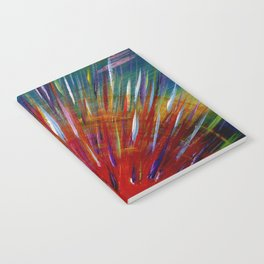 Rainbow Sun Notebook
