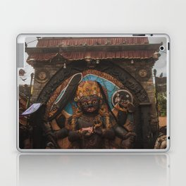 Temples and Architecture of Kathmandu City, Nepal 001 Laptop & iPad Skin
