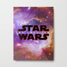 star war fullprint Metal Print