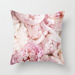 Peonies- Print I Throw Pillow