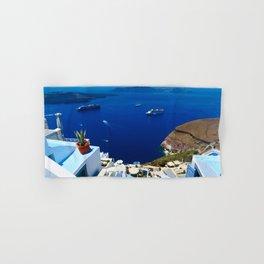 Santorini Caldera Hand & Bath Towel