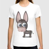 donkey T-shirts featuring DONKEY by Ainaragm