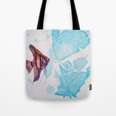 Little Angelfish Tote Bag