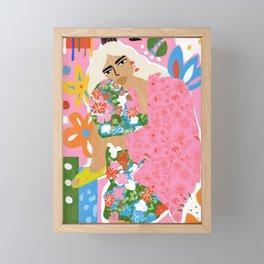 Living in Chaos Framed Mini Art Print