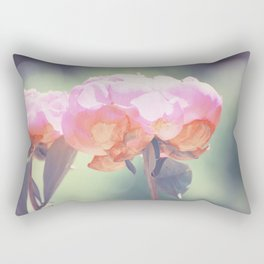 Pink Peony 8 Rectangular Pillow