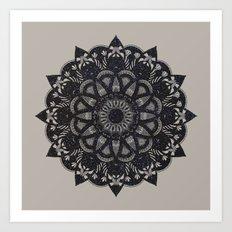 Black Space  Art Print
