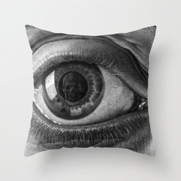 Escher - Eye Throw Pillow