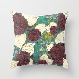 Bonical Garden Throw Pillow