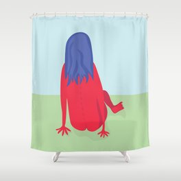 Day in the Park Shower Curtain