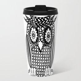 Hypnotise Owl Travel Mug