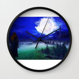 Commander Lexa overlooks Polis Wall Clock