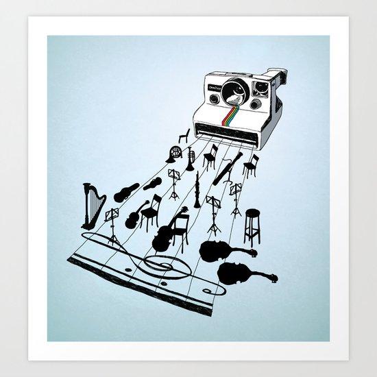 musical moment Art Print