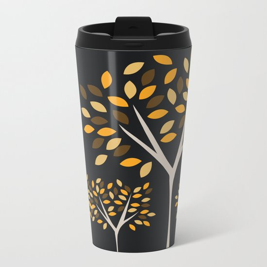 Autumn Trees 2 Metal Travel Mug