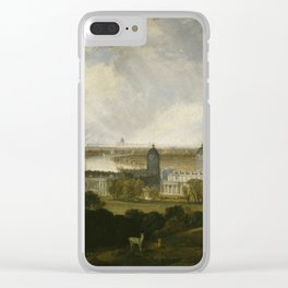 "J.M.W. Turner ""London from Greenwich Park"" Clear iPhone Case"