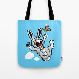Bad Luck Bunny Tote Bag