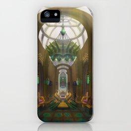 Queen Throne Room iPhone Case