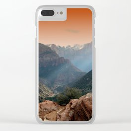 Zion Clear iPhone Case