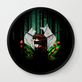 I Promise To Protect You Wall Clock
