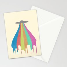 The Melting Beam Stationery Cards