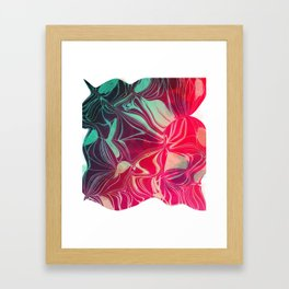 Magnetic Disturbance Framed Art Print