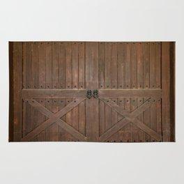 Brown Door Rug