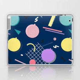 80s Xmas #society6 #retro #xmas Laptop & iPad Skin