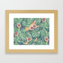 Tropical Boho Design — L Diane Johnson Framed Art Print