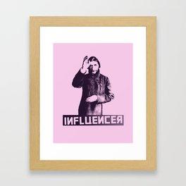 The Real Influencer - RASPUTIN Framed Art Print