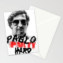 pablo escobar print Stationery Cards