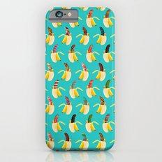 Anna Banana on blue Slim Case iPhone 6s