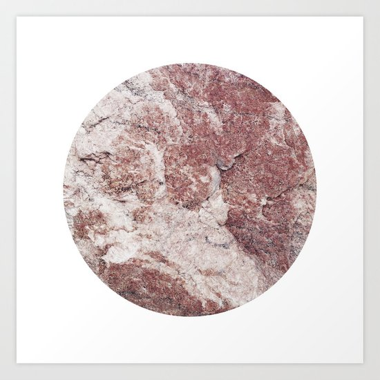Planetary Bodies - Red Rock Art Print