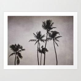 Lost In Paradise Art Print