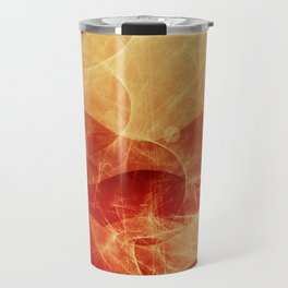 Energy Waves - Fire Version Travel Mug