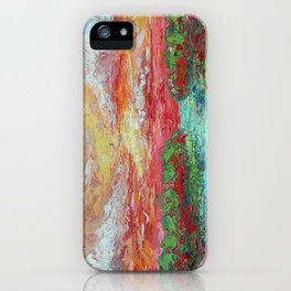 Marshland Sunset iPhone Case
