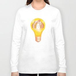 Lighting up City Spooks Long Sleeve T-shirt