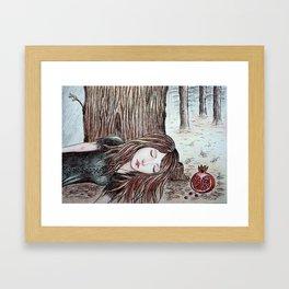 Persephone (Perfect Autumn) Framed Art Print