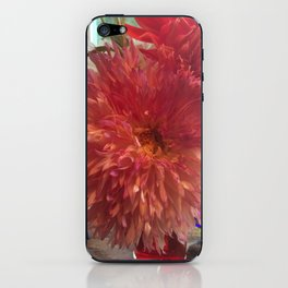 Frilly dahlia iPhone Skin