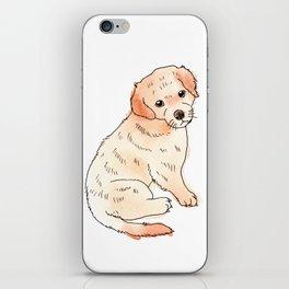 Copper Puppy iPhone Skin