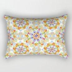 Beaux Arts Flower Crown Rectangular Pillow