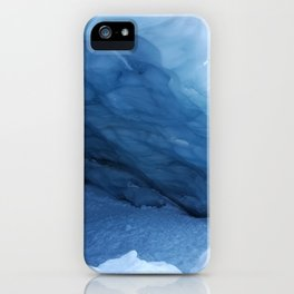 Majesty of Blackcomb Glacier Ice Cave iPhone Case