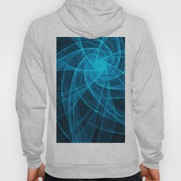 Tulles Star Computer Art in Blue Hoody