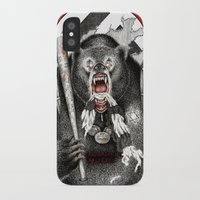 quentin tarantino iPhone & iPod Cases featuring Inglourious Basterds (Quentin Tarantino) The Bear Jew by ARTbyGB