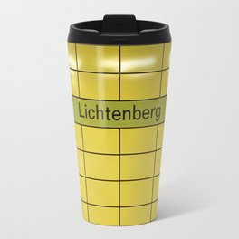 Berlin U-Bahn Memories - Lichtenberg Travel Mug