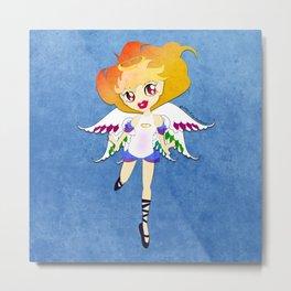 Rainbow Cupid v01 Metal Print